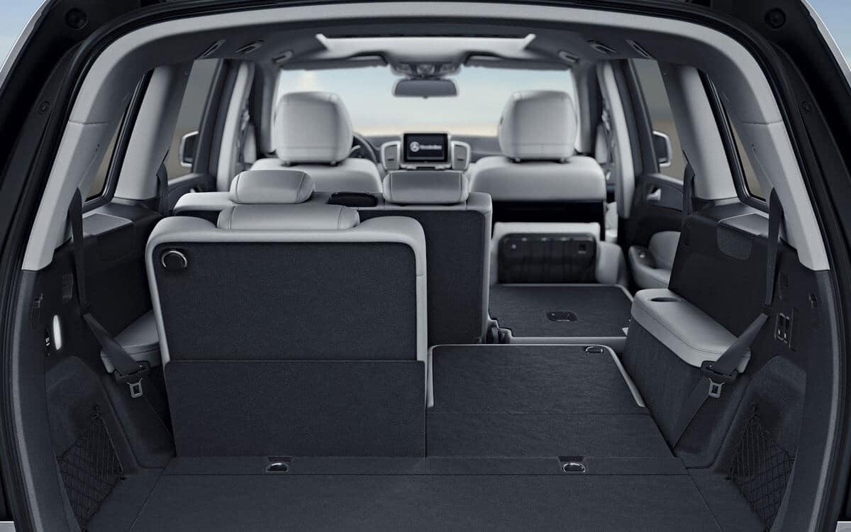 2018 Mercedes-Benz GLS Interior Cargo Space