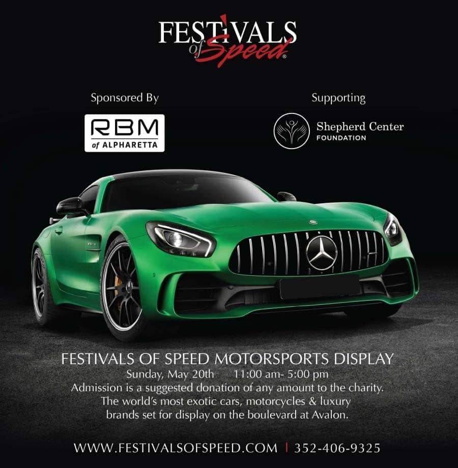 Festival of Speed at Avalon in Alpharetta