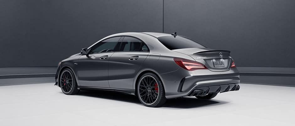 2018 Mercedes-Benz AMG CLA 45 4MATIC Coupe Lease