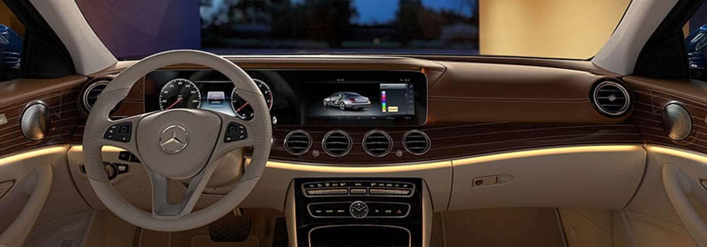 2018 Mercedes Benz E Class Interior Dashboard