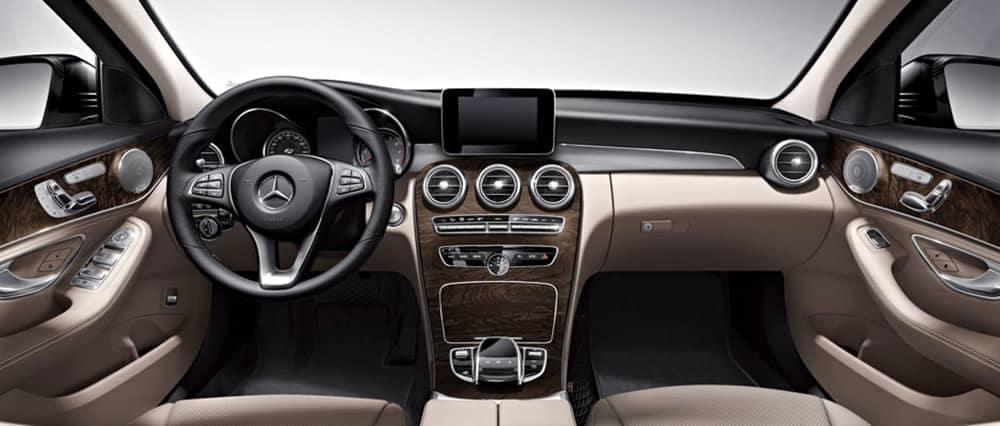 2018 Mercedes-Benz C-Class Interior Dashboard
