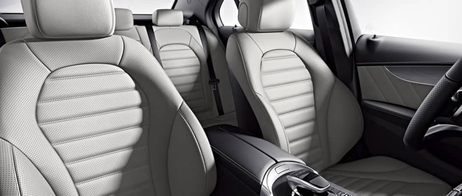 2018 Mercedes-Benz C-Class Interior Seating
