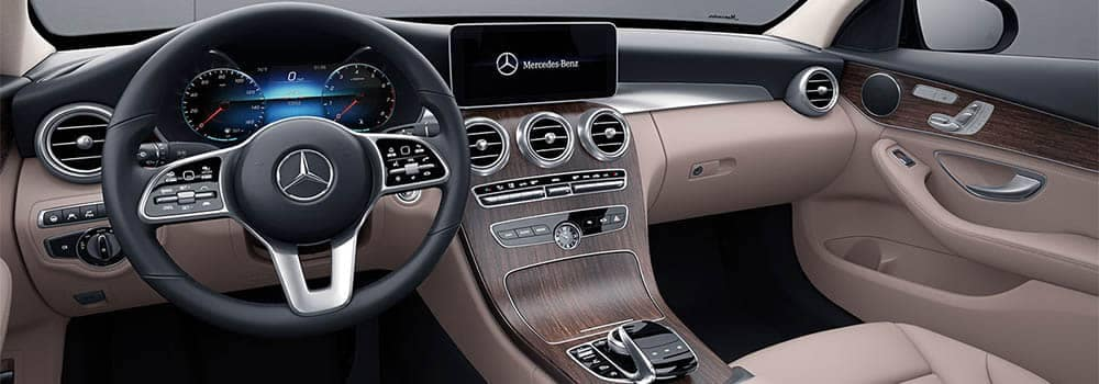 2019 Mercedes-Benz C-Class Dashboard Technology Features