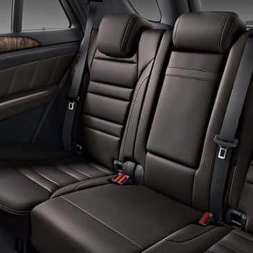 2019 Mercedes-Benz GLE back seating