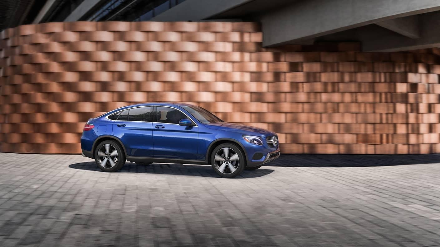 Blue 2019 Mercedes-Benz GLC