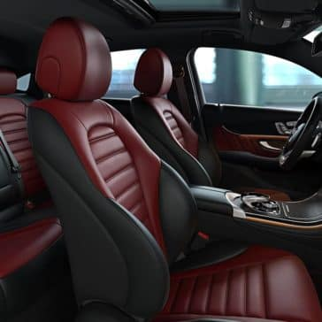 2019 Mercedes-Benz GLC front seating