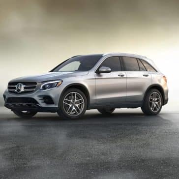 2019 Mercedes-Benz GLC parked