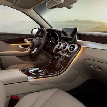 2019 Mercedes-Benz GLC passenger view