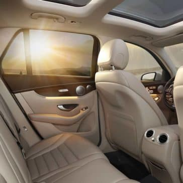 2019 Mercedes-Benz GLC back seating