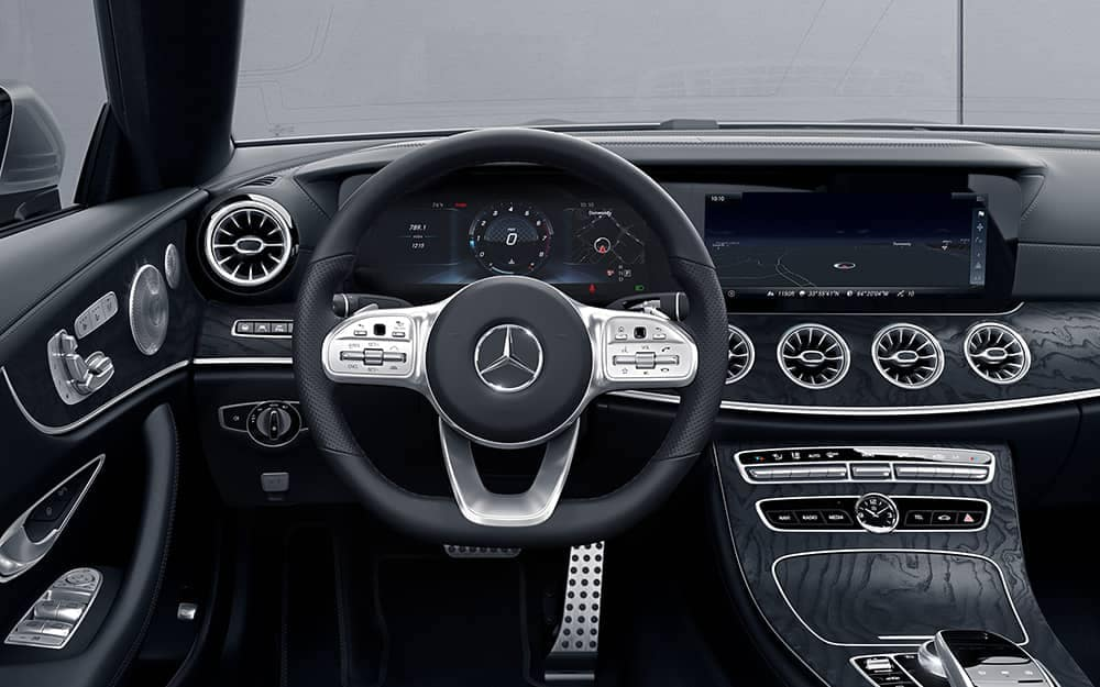 2019 MB E-Class Exterior front interior features