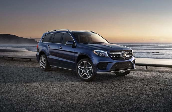 2019 MB GLS At Dusk