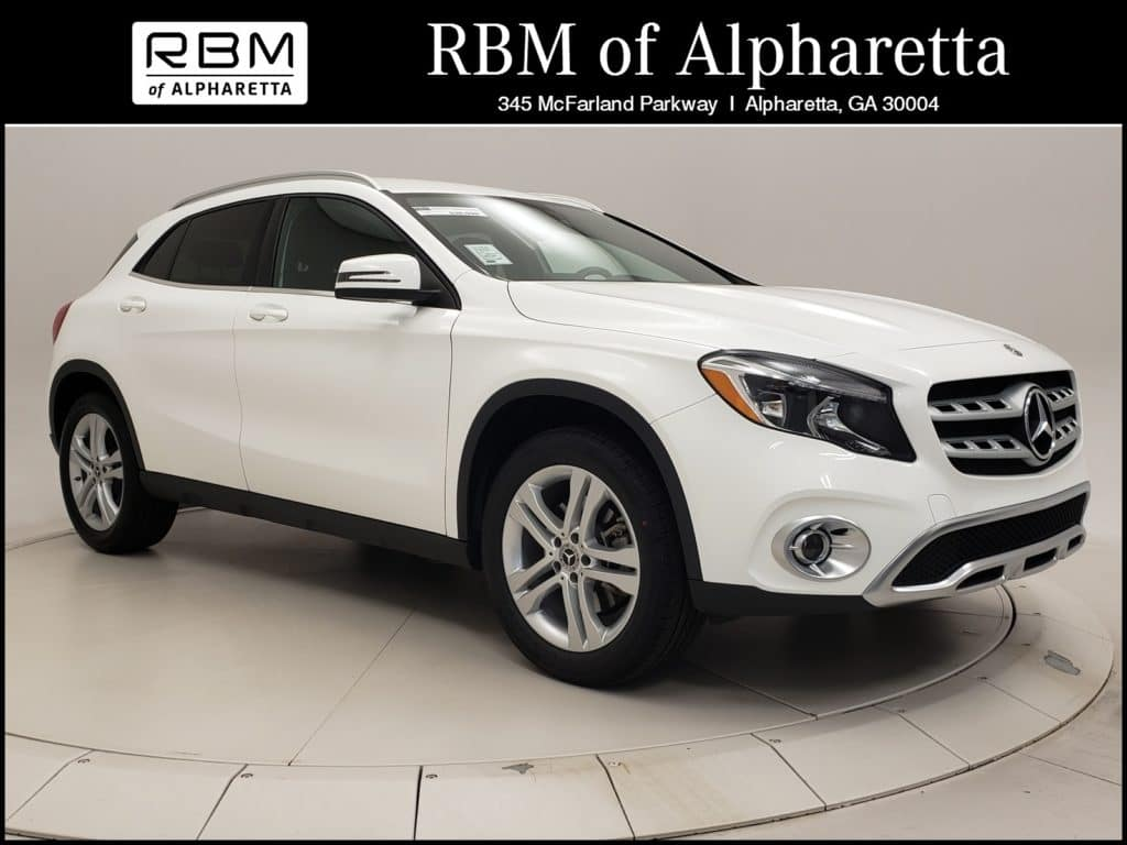2018 Mercedes-Benz GLA 250 SUV Previous Loaner Special Pricing