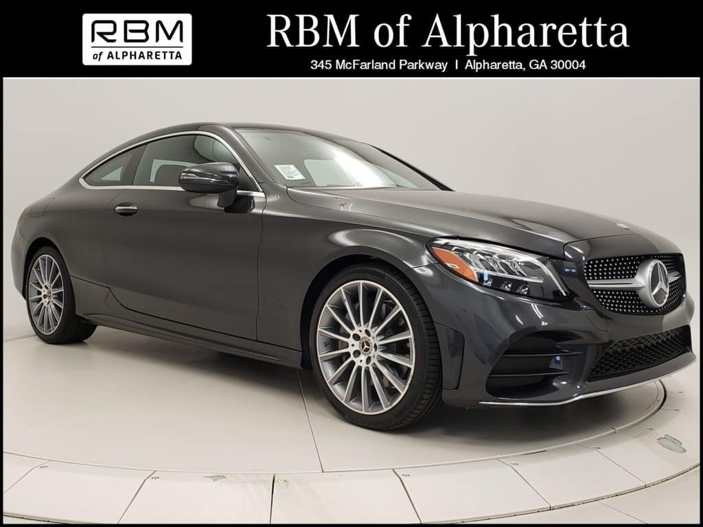 2019 Mercedes-Benz C 300 Coupe Previous Loaner Lease Special
