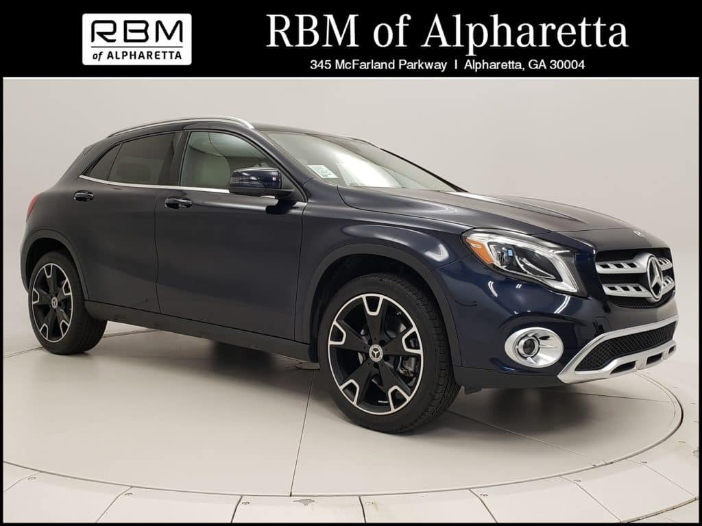 2019 Mercedes-Benz GLA 250 SUV Previous Loaner Lease Special