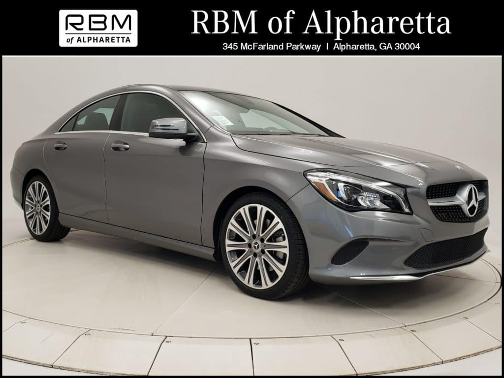 2019 Mercedes-Benz CLA 250 4MATIC Coupe Previous Loaner Lease Special