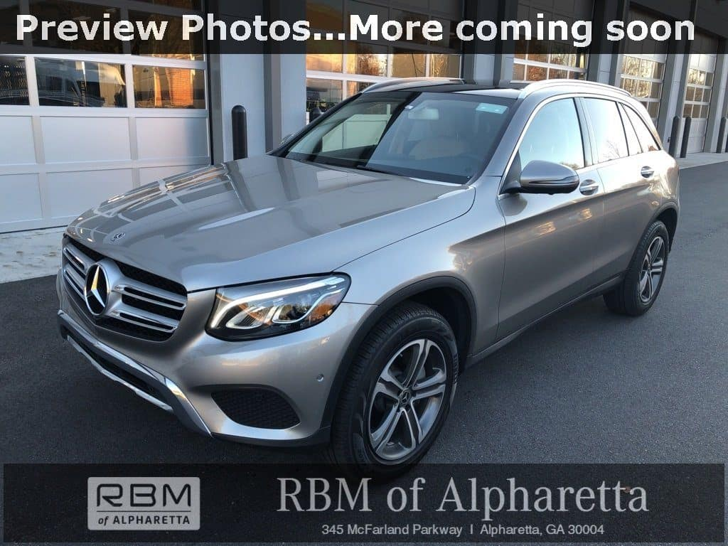 2019 Mercedes-Benz GLC 300 4MATIC SUV Previous Loaner Lease Special