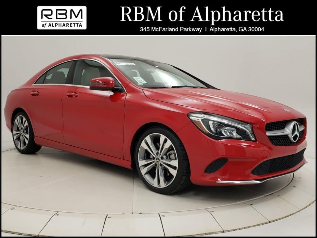 2019 Mercedes-Benz CLA 250 Coupe Previous Loaner Lease Special