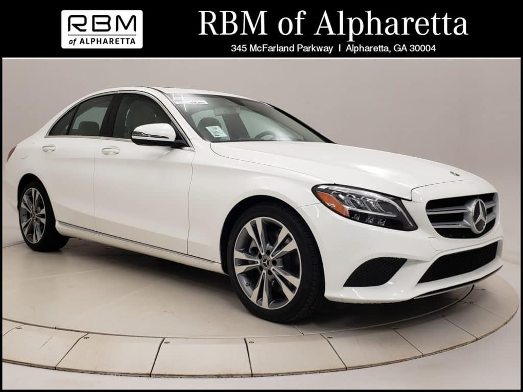 2019 Mercedes-Benz C 300 Sedan Previous Loaner Lease Special