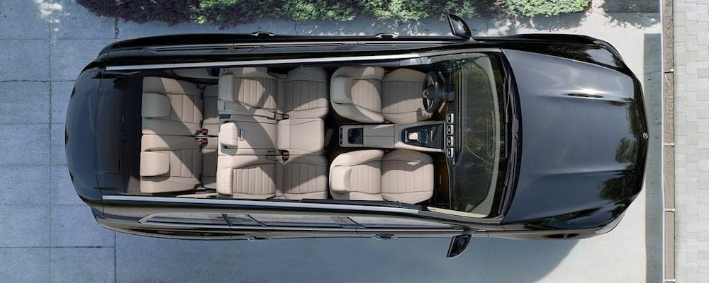 2020 Mercedes-Benz GLS Interior Overhead View