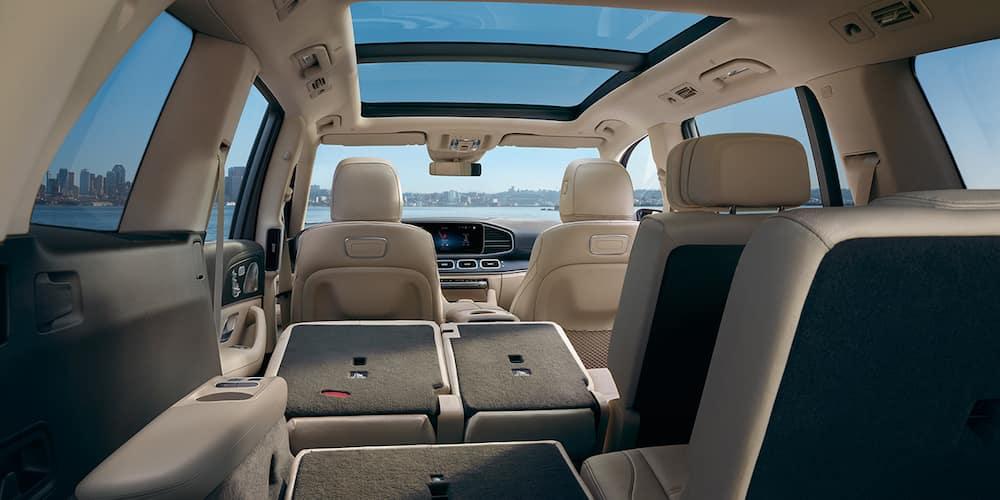 2020 Mercedes-Benz GLS Rear Interior View