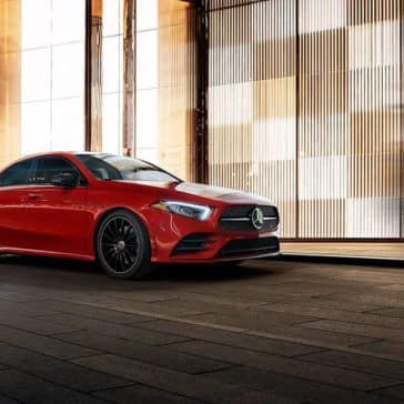 2019 MB A-Class Parked