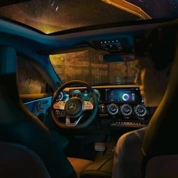 2020 MB CLA Interior Features