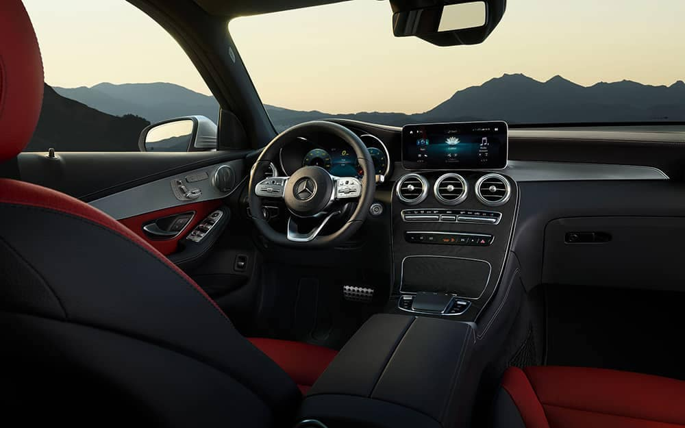 2020 MB GLC Dash