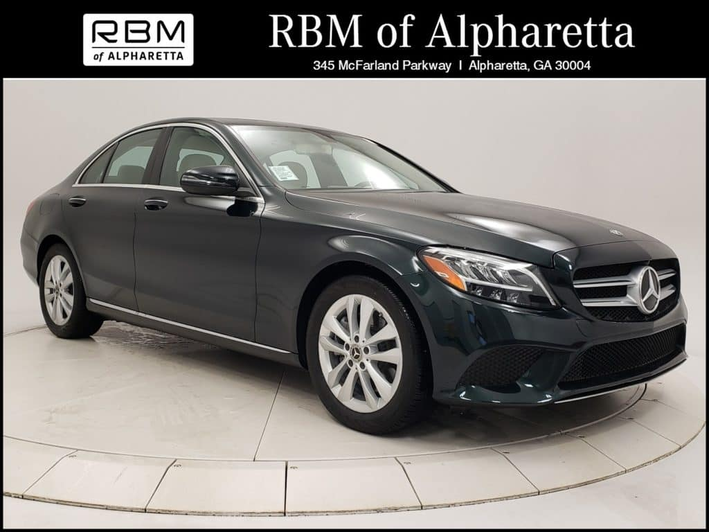 2019 Mercedes-Benz C 300 Sedan Previous Loaner Special Pricing