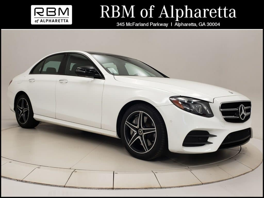 2018 Mercedes-Benz E 400 4MATIC Sedan Previous Loaner Special Pricing