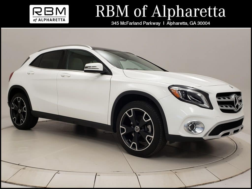 2019 Mercedes-Benz GLA 250 SUV Previous Loaner Special Pricing