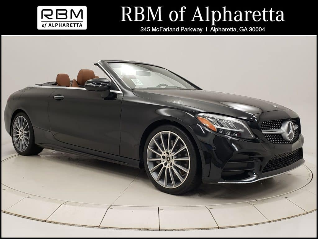 2019 Mercedes-Benz C 300 Convertible Previous Loaner Lease Special