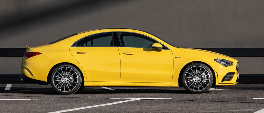 2020 Mercedes-Benz AMG CLA 35 4MATIC Coupe Lease