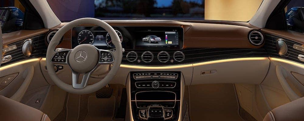 2020 Mercedes-Benz E-Class Front Interior
