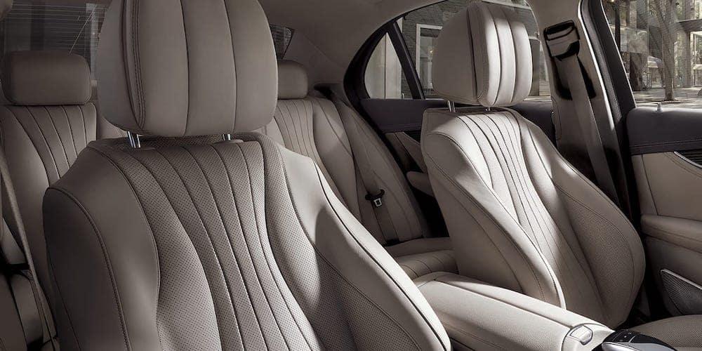2020 Mercedes-Benz E-Class Rear Interior