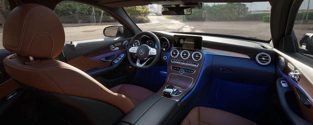 2020 Mercedes-Benz C-Class Front Seats