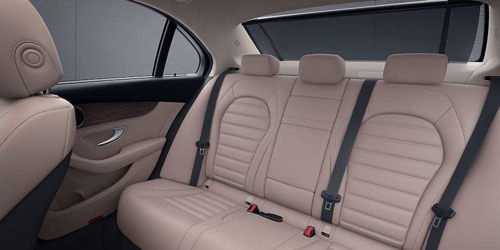 Mercedes-Benz C-Class Rear Seats
