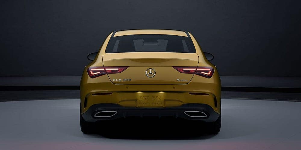 2020 Mercedes-Benz CLA Coupe Rear