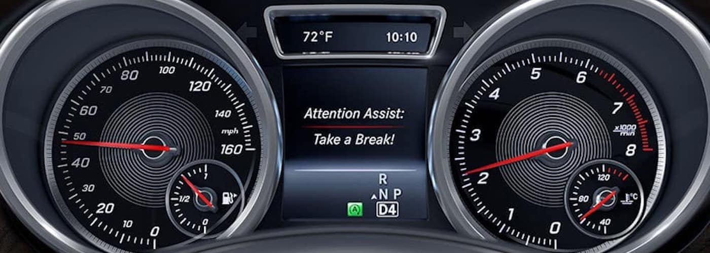 Attention Assist Screen Display