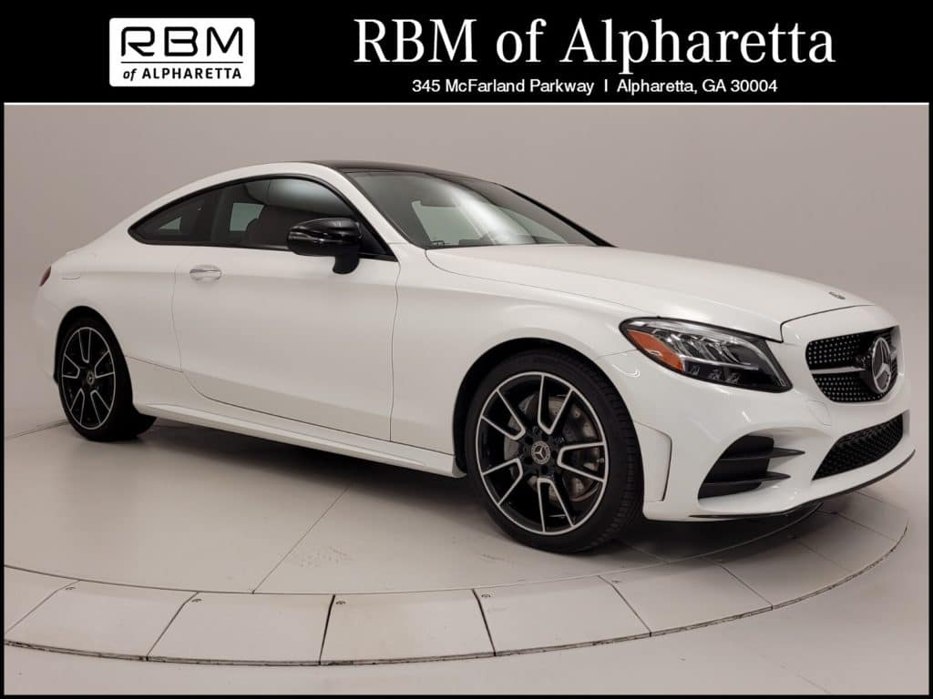2020 Mercedes-Benz C 300 Coupe Previous Loaner Lease Special