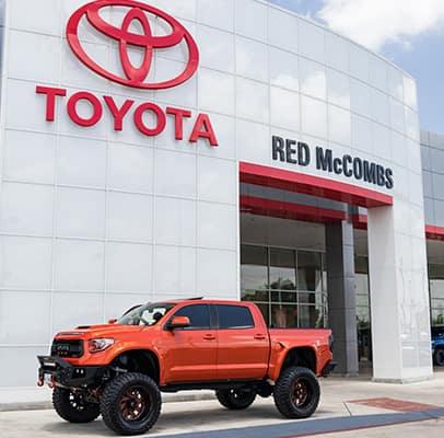 Rmt Customs Red Mccombs Toyota Car Customizations In San