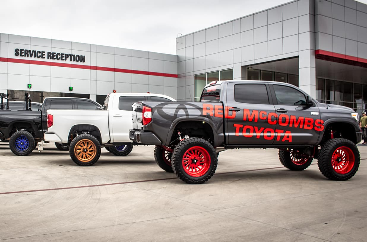 Rmt Customs Red Mccombs Toyota Car Customizations In San