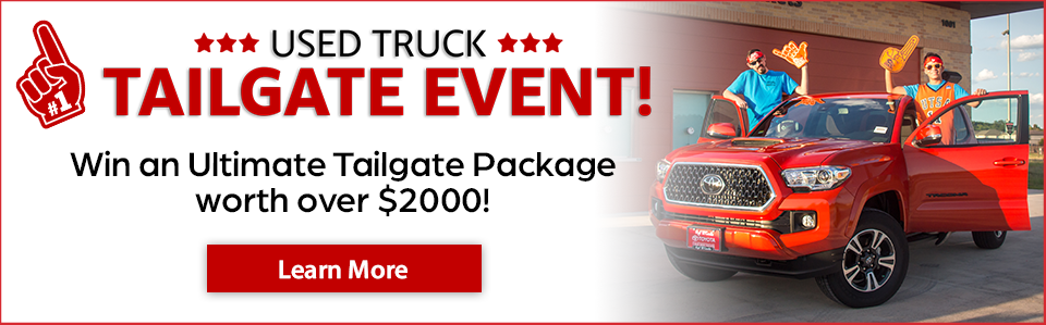 Used Tailgate Event Scrolling