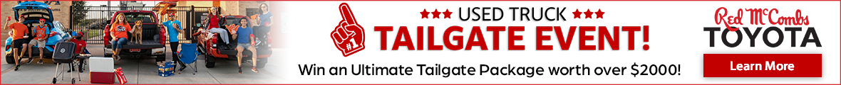 Used Tailgate Event VRP