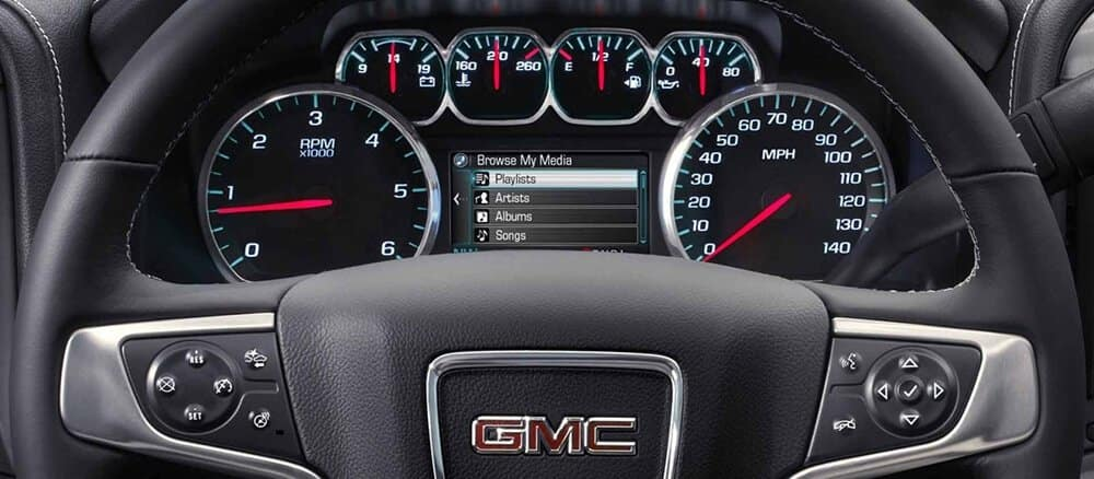 2018 GMC Sierra Interior Gallery 7