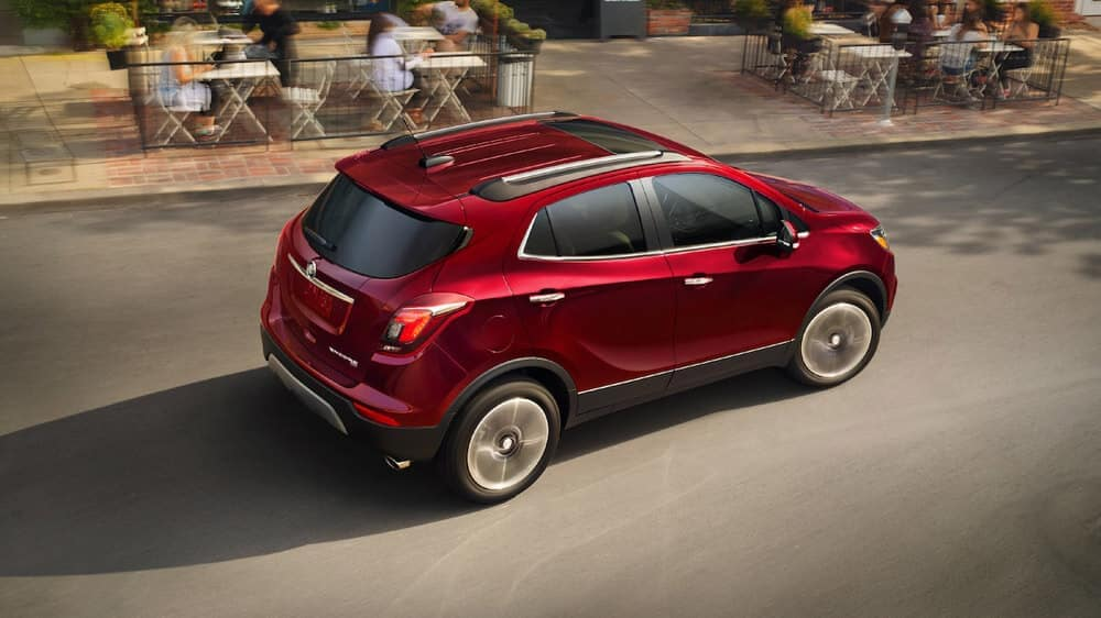 2019 Buick Encore Exterior Driving Down Road