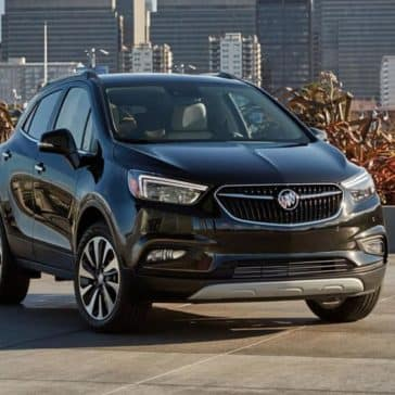 2019 Buick Encore Parked in City Parking Lot