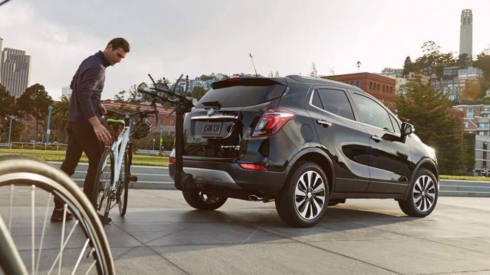 2019 Buick Encore Exterior With Bike Rack Attached