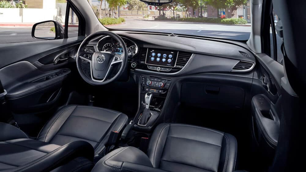 2019 Buick Encore Interior Dashboard Parked on Street
