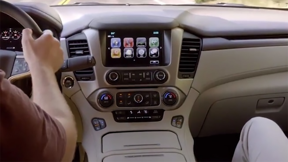 2019 yukon video gal interior