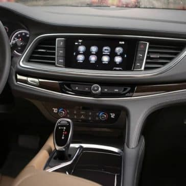 2019 Buick Enclave Interior Dashboard Features